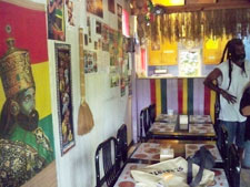 Ital Shack interior